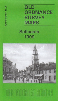 Old Ordnance Survey Maps - Saltcoats 1909, 9781847841698