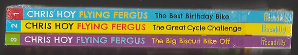 Flying Fergus:  Pack of 1st 3 books, Chris Hoy