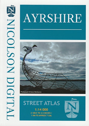 Ayrshire Street Atlas 1:14,000, 9780993343919
