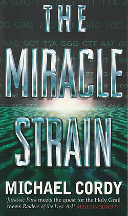 Miracle Strain (The), Michael Cordy, 9780552145787
