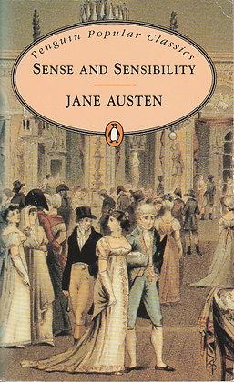 Sense and Sensibility, Jane Austen, 9780140620429