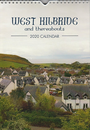2020 Calendar - West Kilbride and Thereabouts - front cover