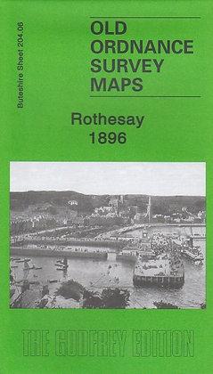 Old Ordnance Survey Maps - Rothesay 1896, 9781847842596