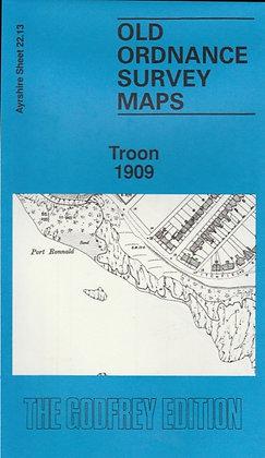 Old Ordnance Survey Maps - Troon 1909, 0850541700