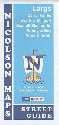 Street Guide: Largs, Dalry, Fairlie, Inverkip, Millport, Seamill, Skelmorlie, Wemyss Bay, West Kilbride, 9781860973581