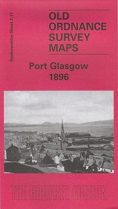Old Ordnance Survey Maps - Port Glasgow 1896, 9781841515526