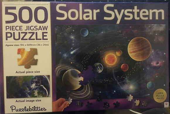 500-piece jigsaw: Solar System, 9781743638620, front of box