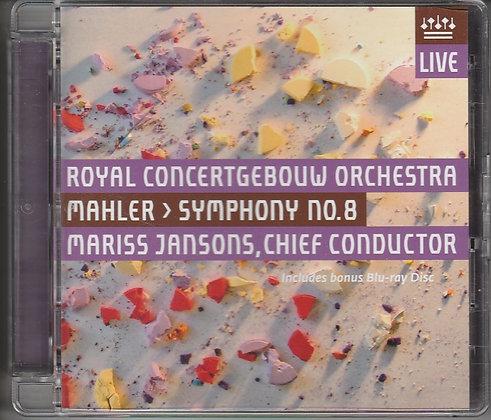 Mahler, Symphony No 8, Royal Concertgebouw Orchestra, Mariss Jansons Conductor, 5425008378961