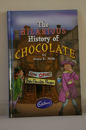 The Hilarious History of Chocolate, Dare E Milk, Cadbury
