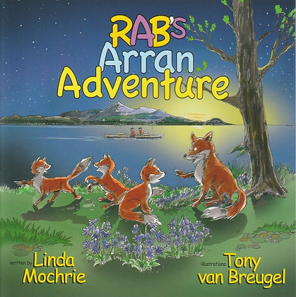 Rab's Arran Adventure, Linda Mochrie, 9780954134754
