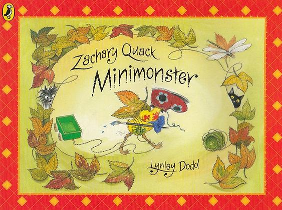 Zachary Quack Minimonster, Lynley Dodd, 9780718195410