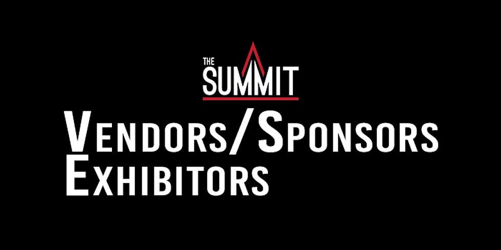 The Summit 2019 - Sponsor/Exhibitor/Vendor Registration (1)