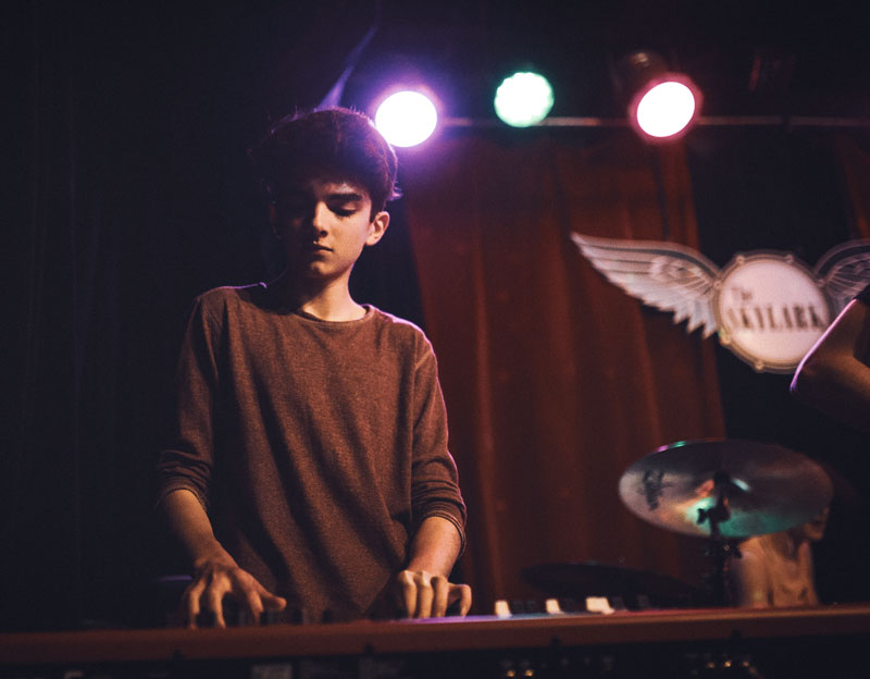 """Dylan on keys"""