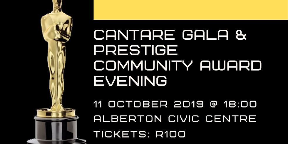 Cantare Gala and Prestige Award Evening