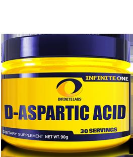 Infinite Labs D-Aspartic Acid