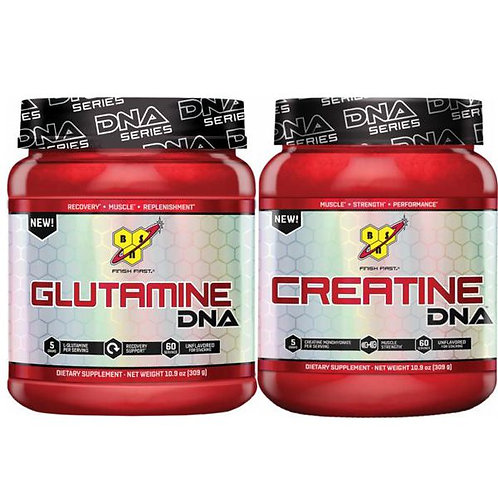 Creatine + Glutamine Stack