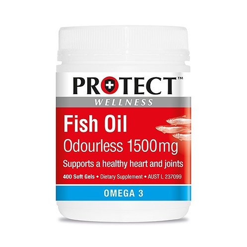 Fish Oil Odourless 1500mg - 400 capsule