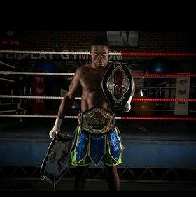 Victor Nagbe world champion kickboxer
