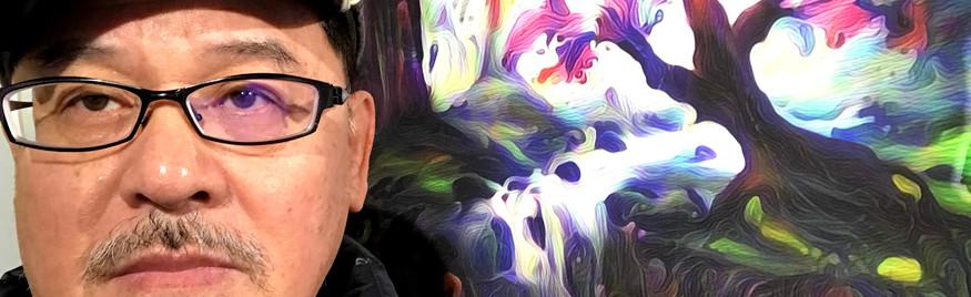Pic taken in front of artwork