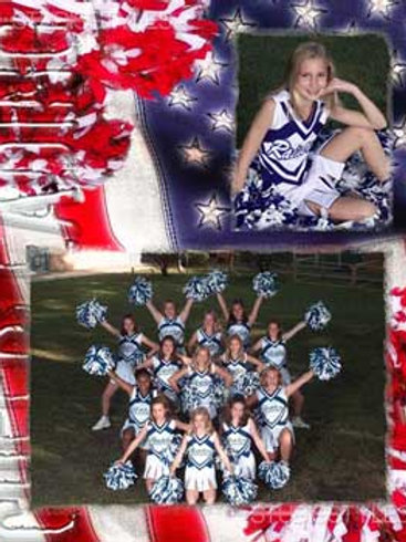Cheerleader Memory Mate