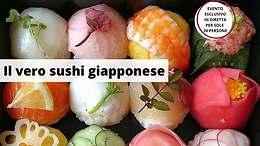 Il vero sushi giapponese