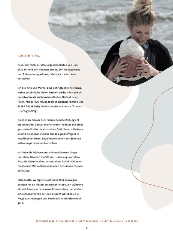 SLEEP CALM BABY Tina Bernert | Schlafberatung Baby und Kleinkind Workbook