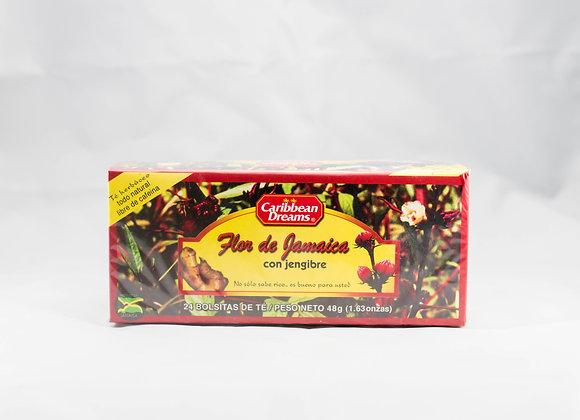 Caribbean Dreams Jamaican Sorrel & Ginger Tea
