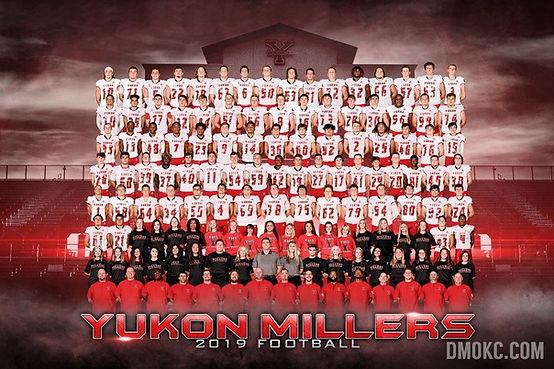 2019 Yukon Millers Football - Varsity.jp