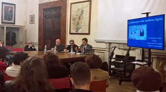 """Convegno """"La Scienza dei Faraoni"""" - Napoli, Palazzo Serra di Cassano, Istituto Italiano per gli Studi Filosofici."""