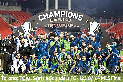 Toronto FC vs. Seattle Sounders FC - 12/10/16 - MLS Cup Final