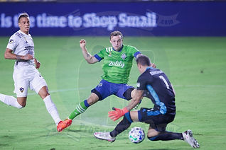 L.A. Galaxy vs. Seattle Sounders FC - 09/27/20 - MLS