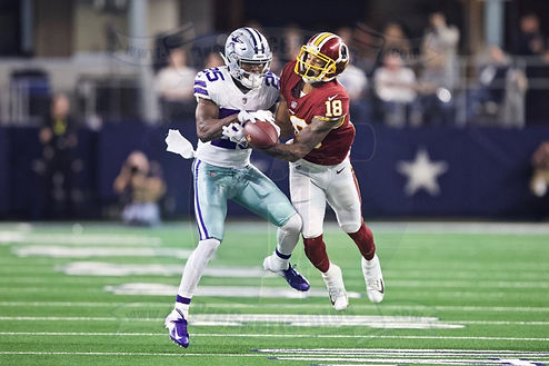 Dallas Cowboys vs. W. Redskins - 11/22/18 - NFL