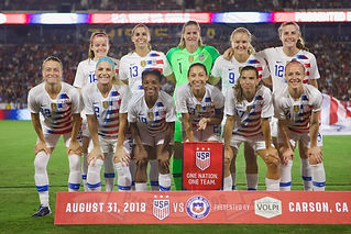 USA WNT vs. Chile WNT- 08/31/18 - Amistoso