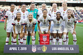 USA WNT vs. Belgica WNT - 04/07/19 - Amistoso