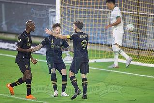 L.A. FC vs. Portland Timbers FC - 09/13/20 - MLS