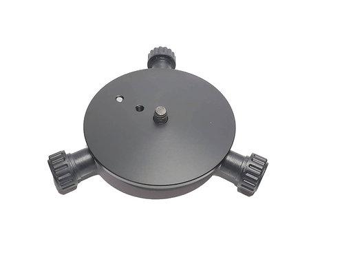 William Optics Mortar三脚用 赤道儀接続アダプター 3/8インチ用