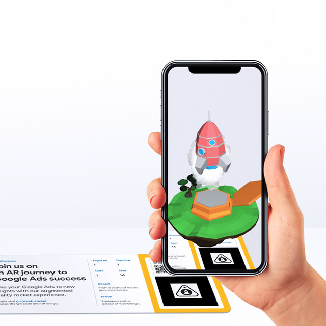 AR Experience Google Ads