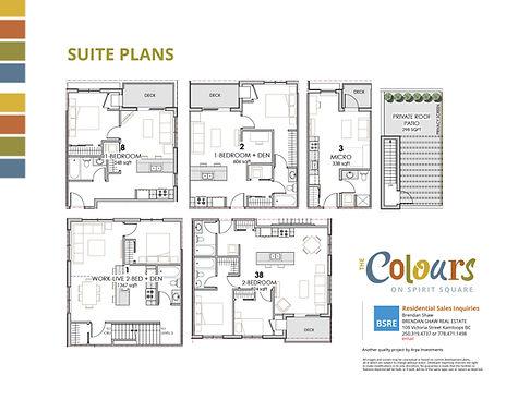 The Colours Suite Plans