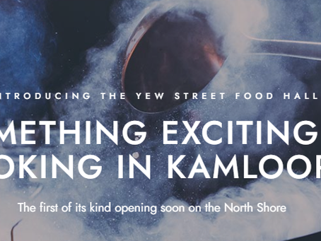 Yew Street Food Hall Construction in Full Swing. End of Summer to Early Fall Launch Targeted