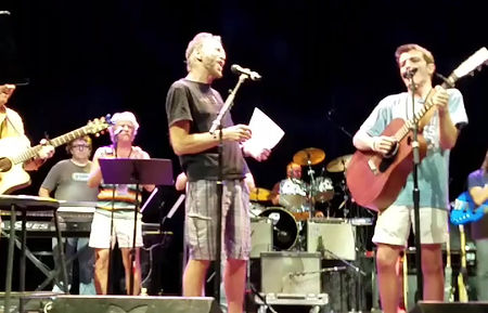 Rehearsal with Kenny Loggins