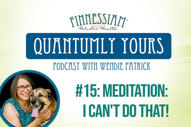 #15 Meditation: I can't do that! - Quantumly Yours (Finnessiam Health's Podcast)