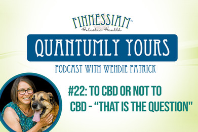 """#22 To CBD Or Not To CBD - That Is The Question"""" - Quantumly Yours (Finnessiam Health's Podcast)"""
