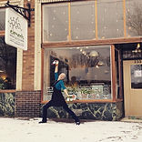 Snow, smiles, and organic cold pressed j
