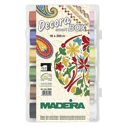 Madeira Decora 12wt Smart Box 18 Spools x 300m