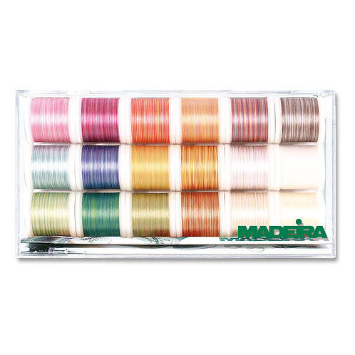 Madeira Cotona 18 Spool 200m Quilting Thread Gift Box