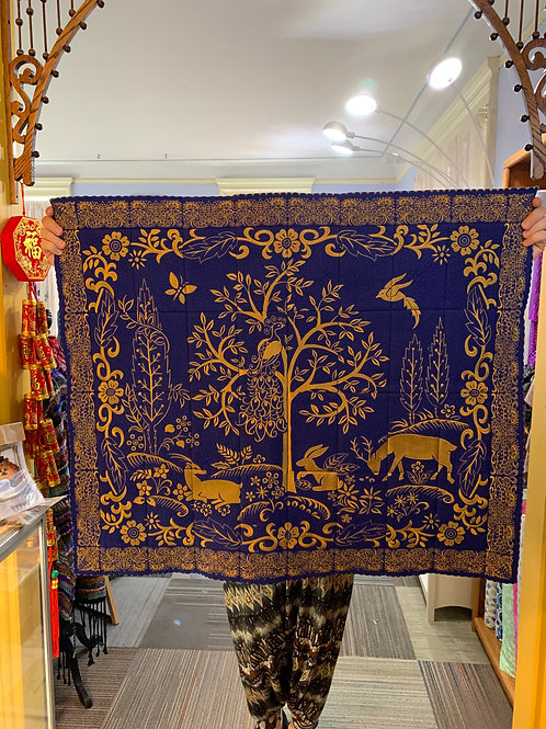 """Golden Tapestry by Anita Gooddesign 42"""" x 35"""" with 1.4 million stitches"""