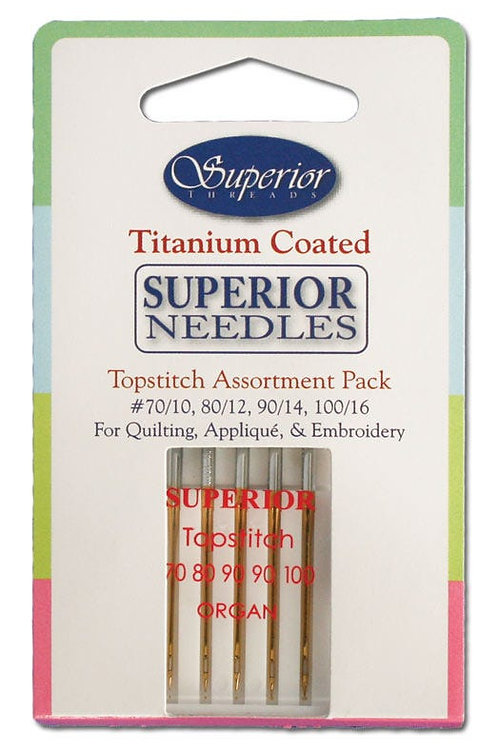 Superior Assortment Titanium-coated Needles