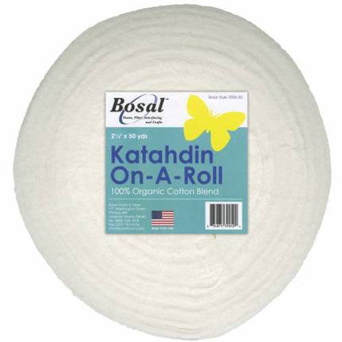"Bosal Katahadin On-A-Roll 2 1/4"" x 50yds Batting Strips"