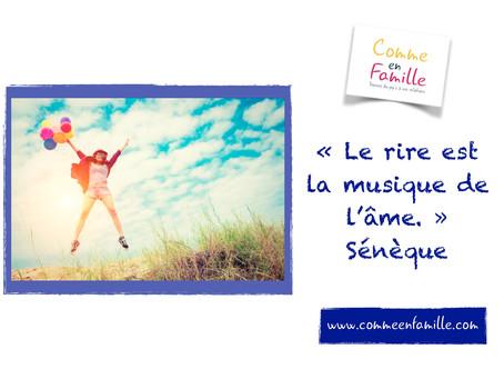 """""""Le rire est la musique de l'âme"""""""