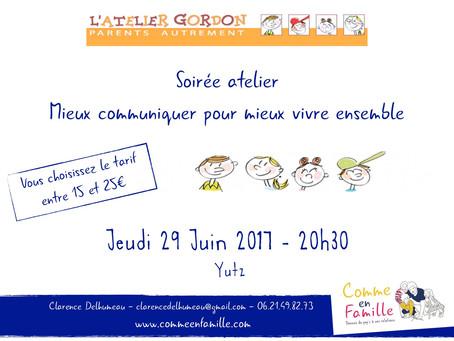 Atelier Mieux Communiquer pour mieux vivre ensemble - Yutz 29 Juin 20H30